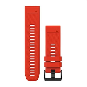 Garmin QuickFit Bracelet en Silicone Rouge 26mm