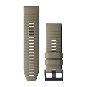 Garmin QuickFit Bracelet en Silicone Grès foncé 26mm