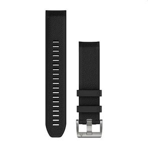 Garmin QuickFit Bracelet en Silicone Noir 22mm