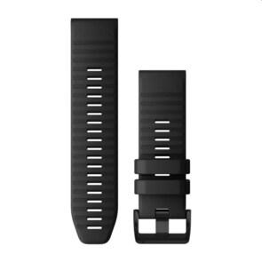Garmin QuickFit Bracelet en Silicone Noir 26mm