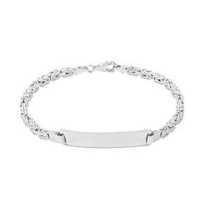 Bracelet royal à graver argent 925 3.0mm