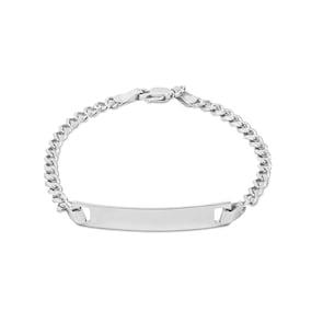 Bracelet gourmette à graver argent 925 3.0mm