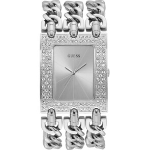 Guess Heavy Metal Silver