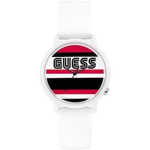 Guess Originals Varsity Blanc