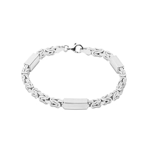 Bracelet chaîne royale carrée argent 925 3.0mm