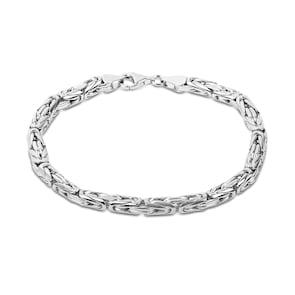 Bracelet chaîne royale ronde argent 925 5.0mm