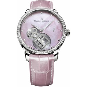 """Maurice Lacroix Masterpiece Square Wheel """"Pink Pearl"""" Limited Edition"""