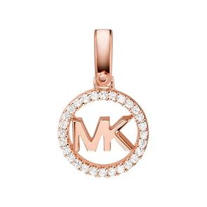 Michael Kors Premium Argent 925 Pendentif MK Custom Kors