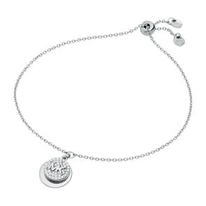 Michael Kors Premium Argent 925 Bracelet MK Logo