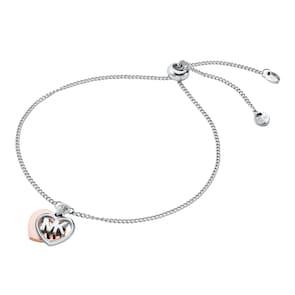 Michael Kors Premium Argent 925 Bracelet MK Love