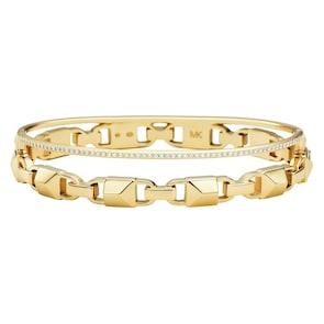 Michael Kors Premium Argent 925 Bracelet Jonc MK Mercer Link