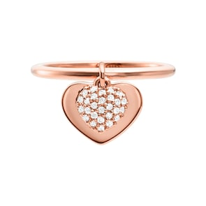 Michael Kors Premium Argent 925 Bague pour Femmes MK Love
