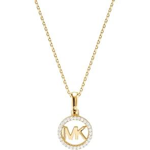 Michael Kors Premium Argent 925 Collier MK Custom Kors