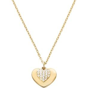 Michael Kors Premium Argent 925 Collier MK Love