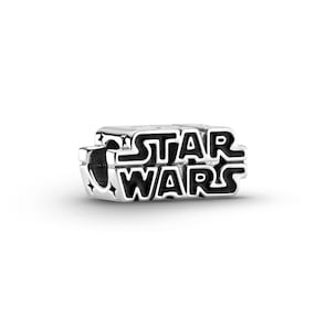 Pandora Moments x Star Wars, Charm Logo 3D Argent