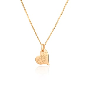 Paul Hewitt Argent Sterling 925 North Love Collier 18K Plated Doré