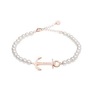 Paul Hewitt Bracelet Ancre Spirit Pearl IP Or Rosé