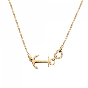 Paul Hewitt Collier Argent 925 Anchor Love IP Or