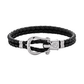 Paul Hewitt Bracelet Phinity Shackle Acier Inoxydable Noir