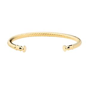 Paul Hewitt Bracelet Rocuff IP Doré