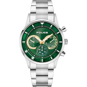 Police Driver Day-Date Vert