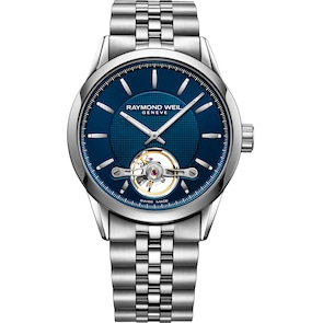 Raymond Weil Freelancer Open Heart Automatique Bleu Ø 42mm