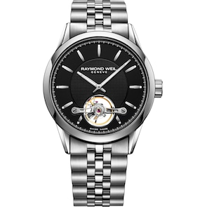 Raymond Weil Freelancer Open Heart Automatique Argent Ø 42mm