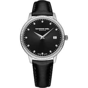 Raymond Weil Toccata Diamond Noir Ø 34mm