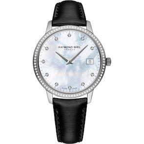 Raymond Weil Toccata Diamond Argent / Nacre Blanche Ø 34mm