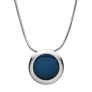 Skagen Collier Sea Glass Cobalt Circle