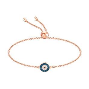Swarovski Bracelet Luckily, multicolore, métal doré rose