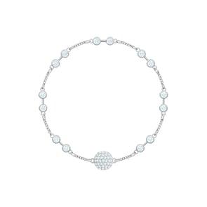 Swarovski Bracelet Remix Collection, blanc, métal rhodié