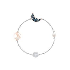 Swarovski Bracelet Remix Collection Moon, multicolore, Finition mix de métal