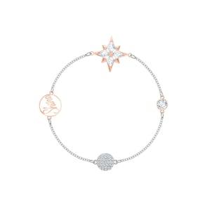 Swarovski Bracelet Remix Collection Star, multicolore, Finition mix de métal
