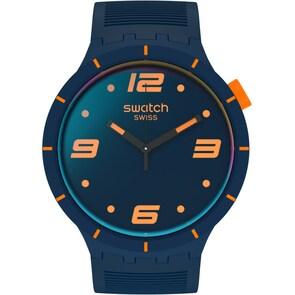 Swatch Big Bold Futuristic Blue