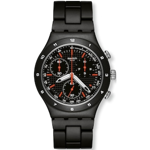 Swatch Irony Chrono Black Coat