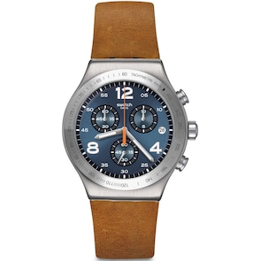 Swatch Irony Chrono Cognac Wrist
