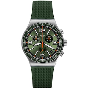 Swatch Irony Chrono Forest Grid