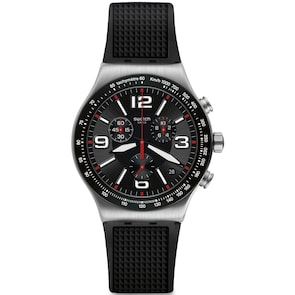 Swatch Irony Chrono Very Dark Grid