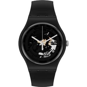 Swatch Original Biosourced Spot Time Black