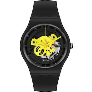 Swatch Original Biosourced Time To Yellow Big