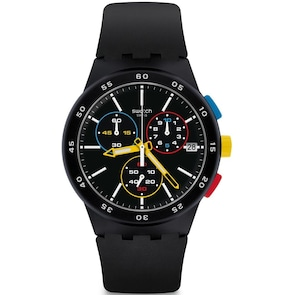 Swatch Original Chrono Black-One