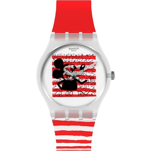 Swatch Original Mouse Marinière Special Edition