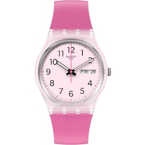 Swatch Original Rinse Repeat Pink Day Date