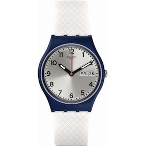 Swatch Original White Delight Day Date