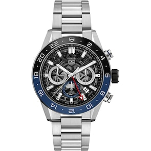 TAG Heuer Carrera Calibre Heuer 02 Automatique Chronographe GMT