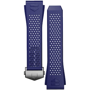 TAG Heuer Connected 2020 Bracelet de Montre Caoutchouc Bleu