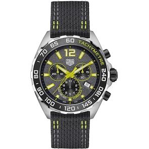 TAG Heuer Formula 1 Quartz Chronographe Gris / Jaune
