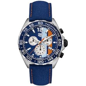 TAG Heuer Formula 1 Quartz Chronographe Gulf Special Edition