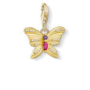 Thomas Sabo Pendentif Charm Papillon Or